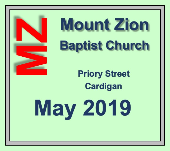 Mount Zion Baptist Church May 2019 Diary